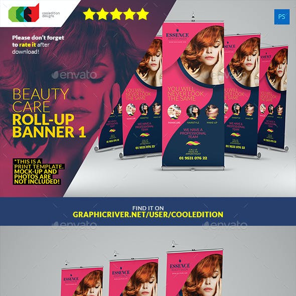 Beauty Care Roll-Up Banner 1