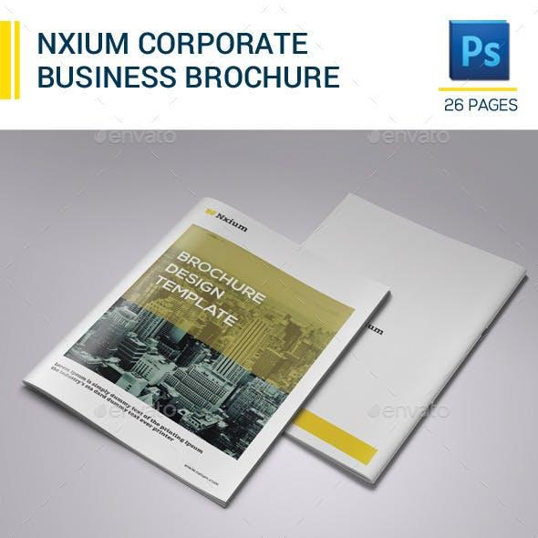 Nxium Brochure Template