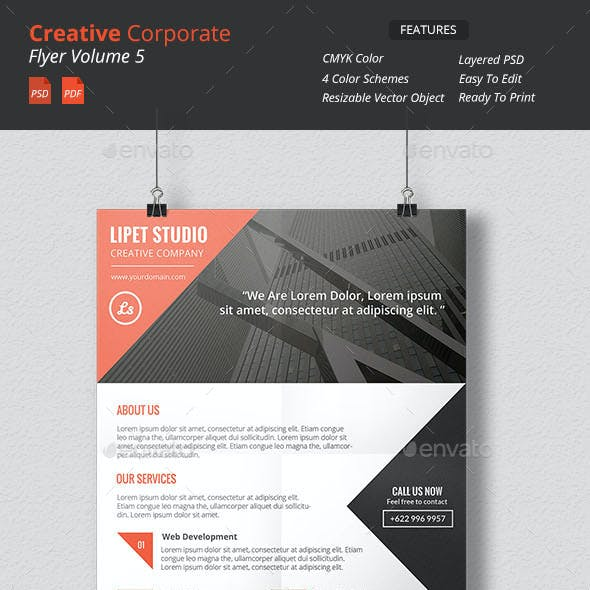 Creative Corporate Flyer v5