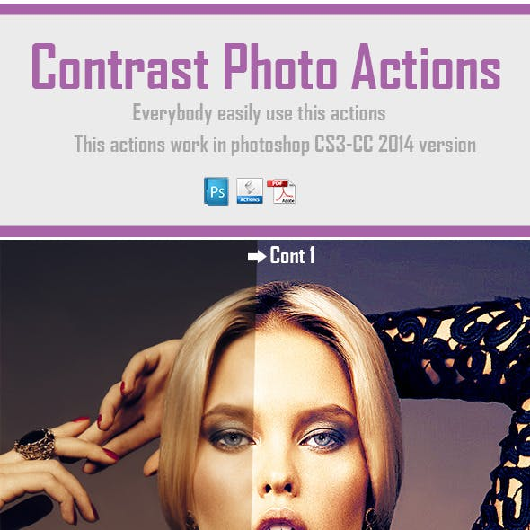 Contrast Photo Actions