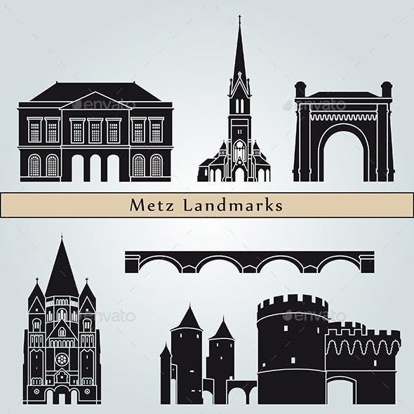 Metz Landmarks and Monuments