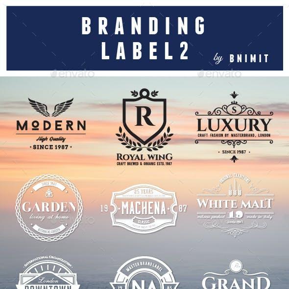 Branding Label Vol.2