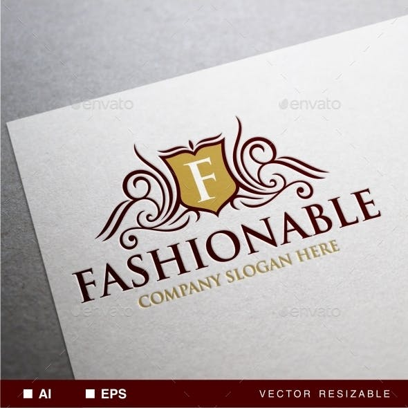 Fashionable Logo Template