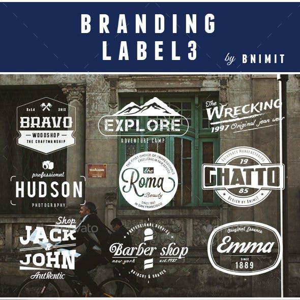 Branding Label Vol.3