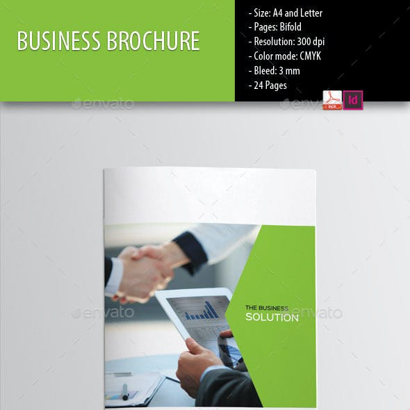 Business Brochure-Indesign Template