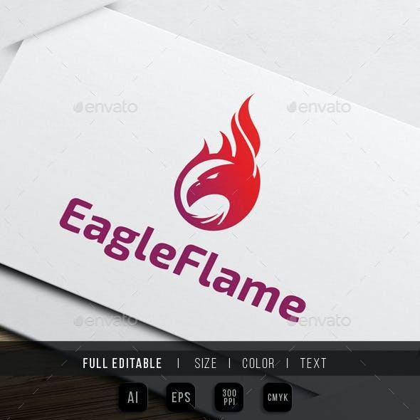 Eagle Flame / Fire Logo