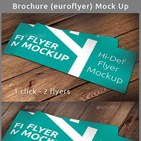 Realistic Brochure (Flyer) Mock-Up