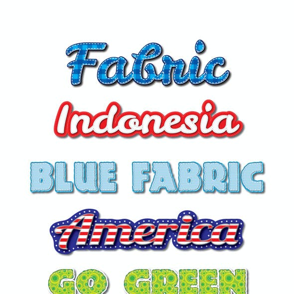 Fabric Pattern Graphic Styles for Ai