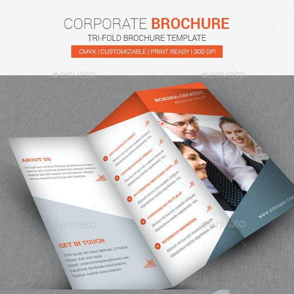 TriFold Brochure Corporate