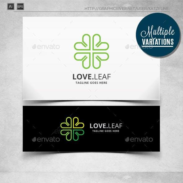 Clover Love Line - Logo Template