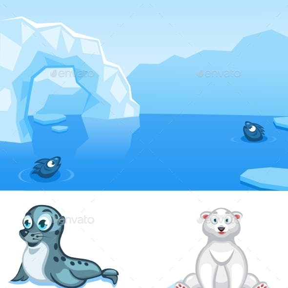 Cartoon Animals Pack-2