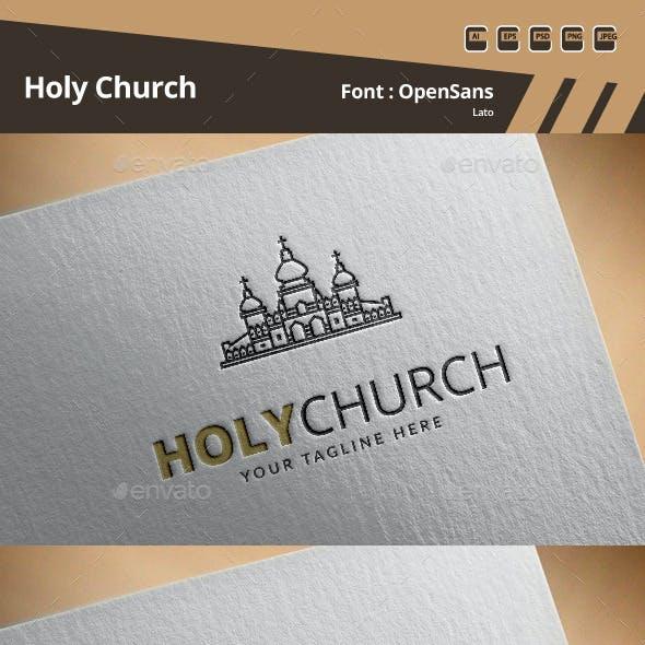 Holy Church Logo Template