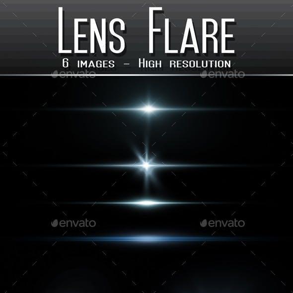6 Pack Lens Flares