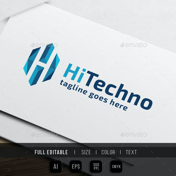 Hi Tech - Letter H