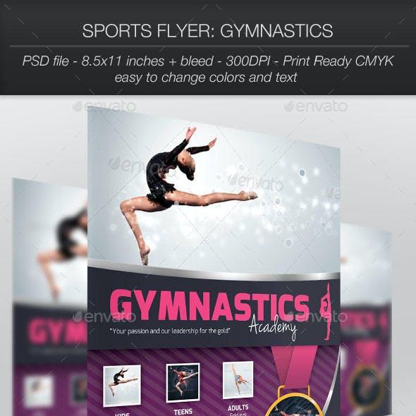 Sports Flyer: Gymnastics