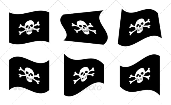 Pirate Flags - Miscellaneous Characters