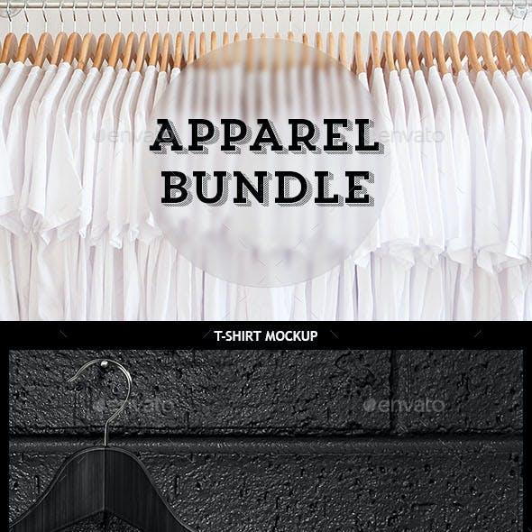 Apparel Mockup Bundle - T-shirt / Sweat / Hoodie