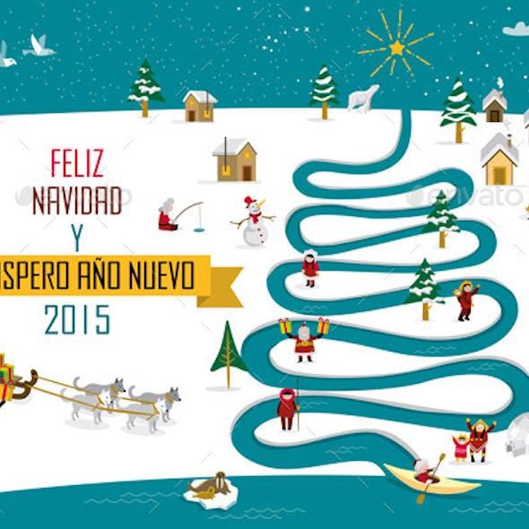 Eskimos Christmas Spanish
