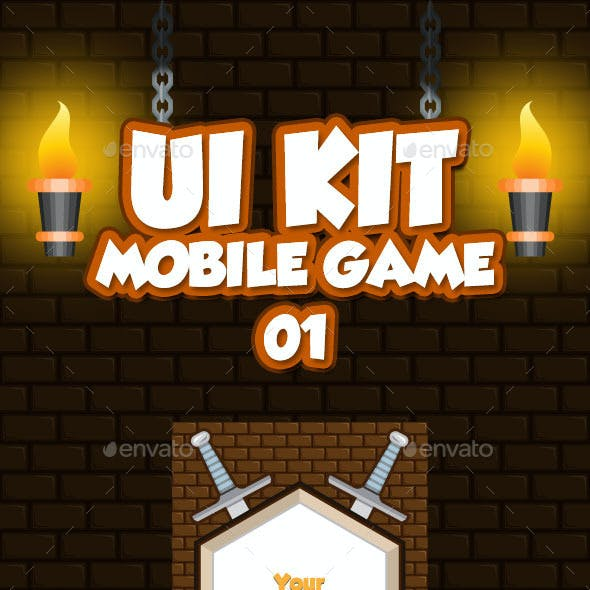 Mobile Game UI Collection 01