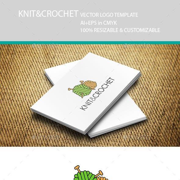 Knitting Crochet Logo