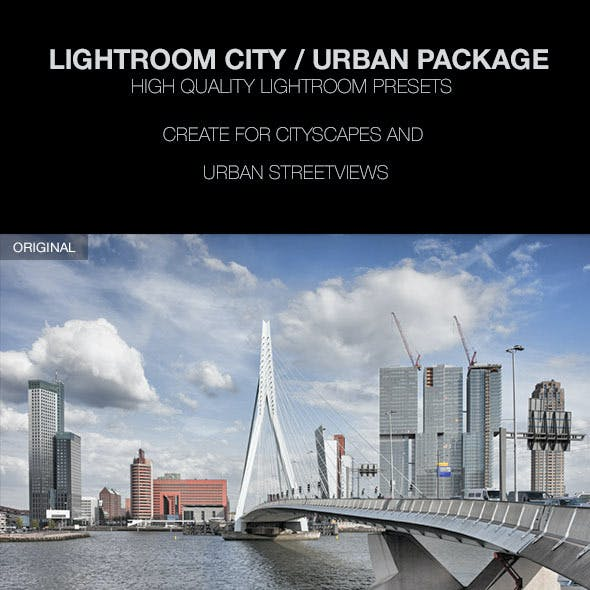 Cityscape and Urban Lightroom Presets