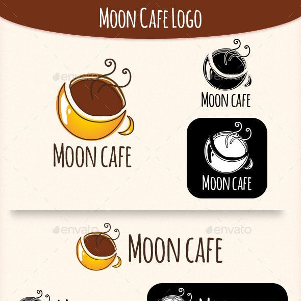 Moon Coffee Logo