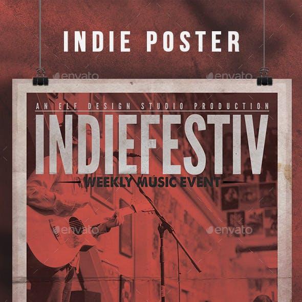 Indie Flyer/Poster