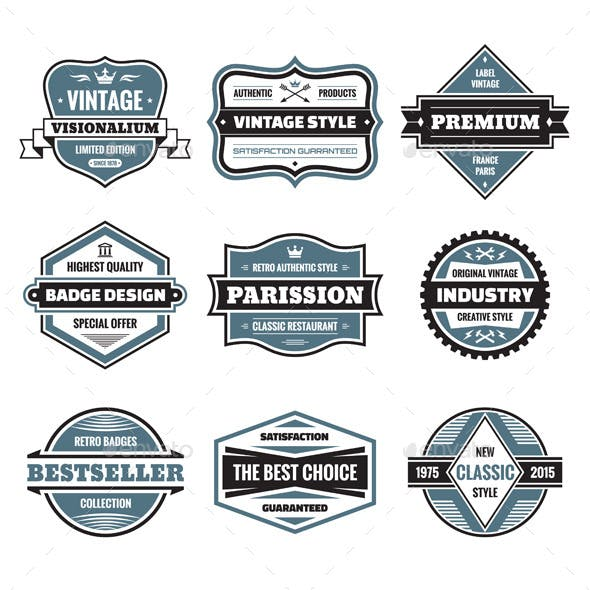 9 Labels and Badges