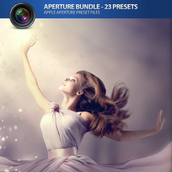 Apple Aperture Plugin Photo Presets (Bundle of 23)