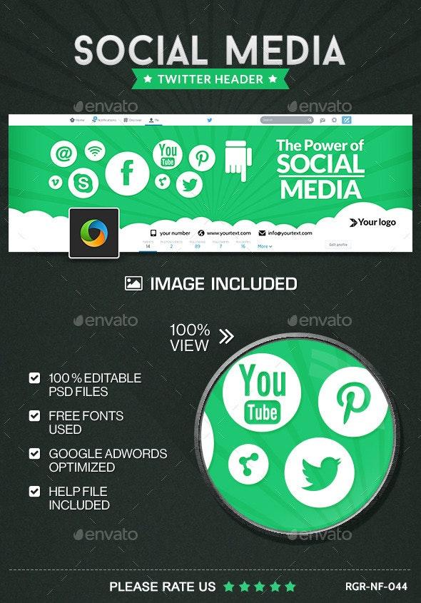Social Meda Marketing Twitter Header - Twitter Social Media