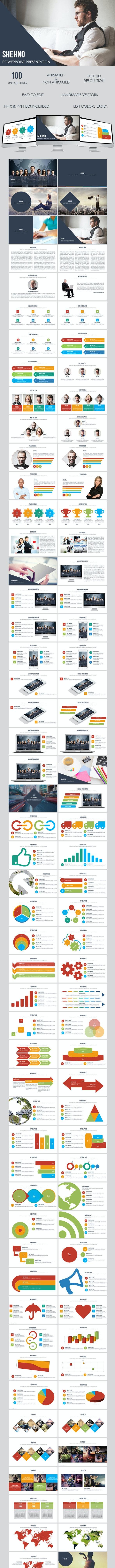 Shehno - Multipurpose Presentation Template - Business PowerPoint Templates