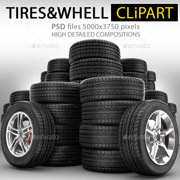 Rubber Tires Wheels