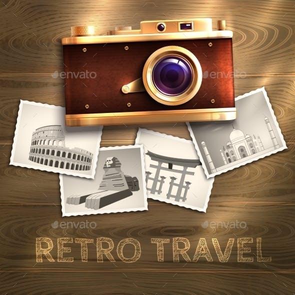 Retro Camera Background