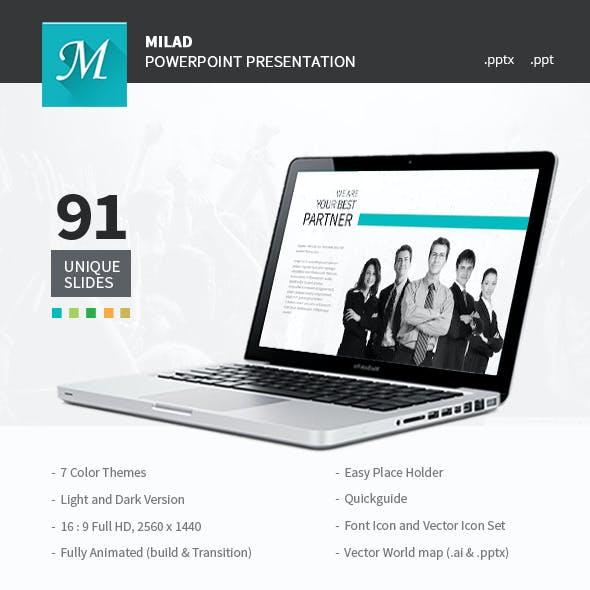 Milad - Powerpoint Presentation
