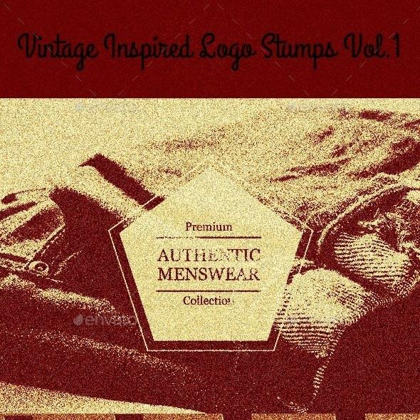 Vintage Inspired Logo Stumps Vol.1