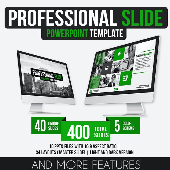 Professional Slide PowerPoint Template