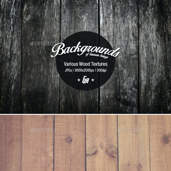 5 Wood Textures 05 - Wooden Backgrounds