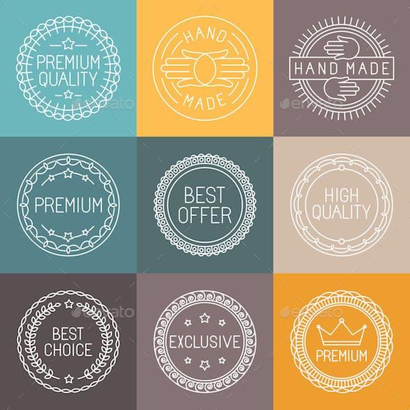 Set of Premium Labels