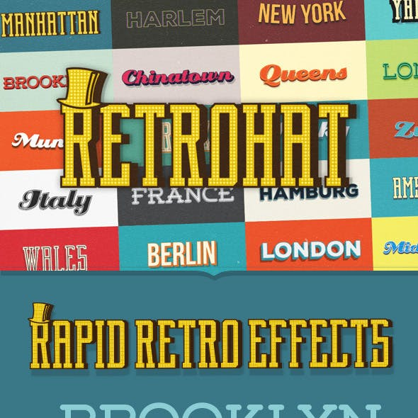 Retrohat Graphic Styles