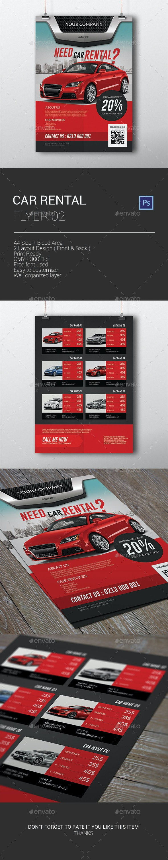 Car Rental Flyer - Corporate Flyers