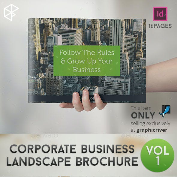 Corporate Business Landscape Brochure
