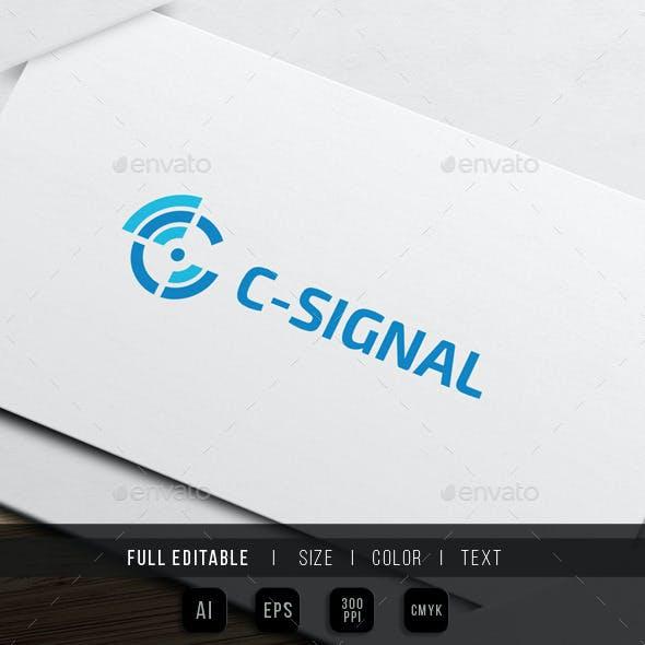 Signal - Letter C