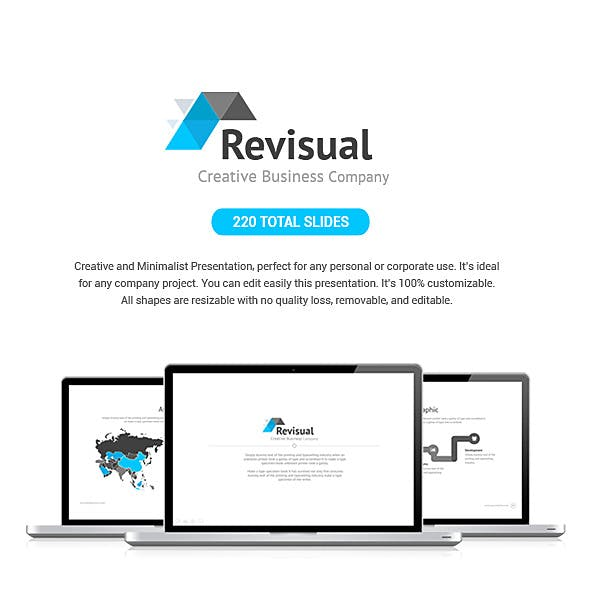Revisual Keynote Template