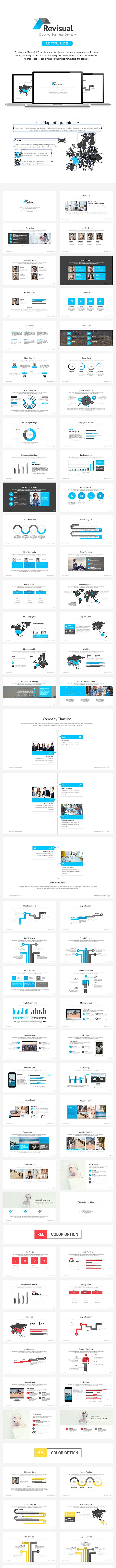 Revisual Keynote Template - Business Keynote Templates