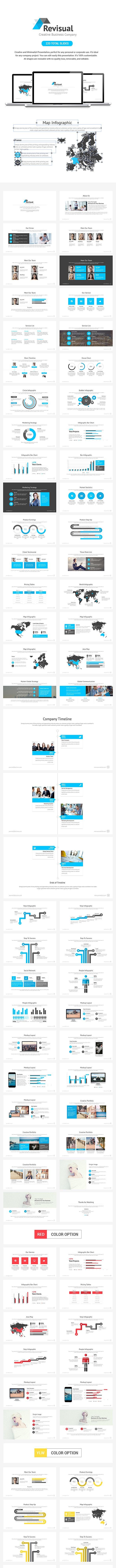 Revisual Keynote Template - Business Keynote Templates