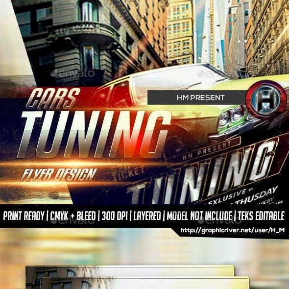 Car Show Tuning Flyer Design