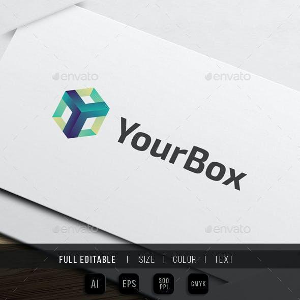 Letter Y - Box tech Logo