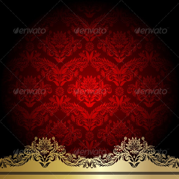 Red background  - Backgrounds Decorative