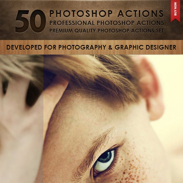 50 Photoshop Actions