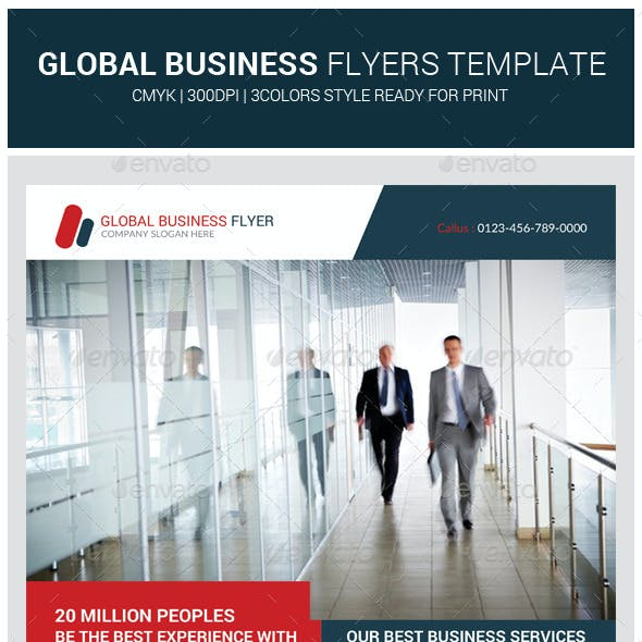 Global Corporate Business Flyer Template
